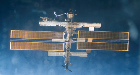 Image: Space station