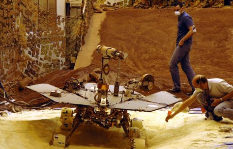 Image: Rover test
