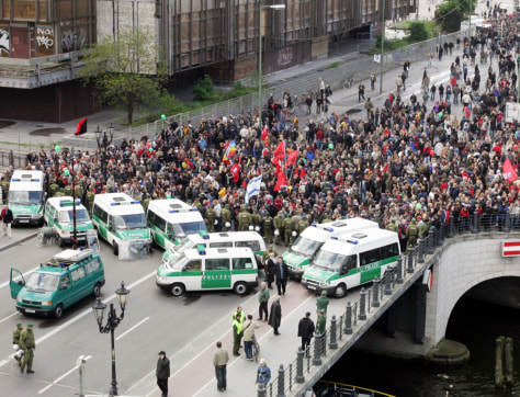 Image: Demonstrations in Berlin