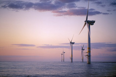OFFSHORE WIND POWER ILLUSTRATION