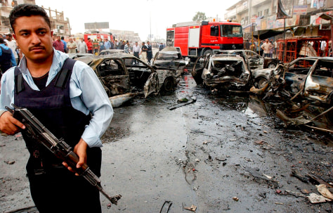 Car Bomb Explodes Near Busy Market Place In Eastern Baghdad