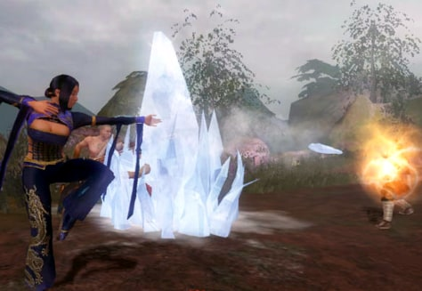 """Jade Empire"" screenshot"