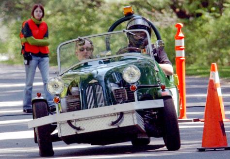 IMAGE: ELECTRIC CAR AT TOUR DE SOL