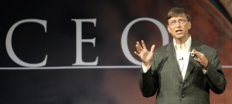 Gates speaks at CEO Summit