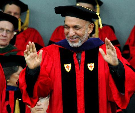 Image: Afghan President Hamid Karzai