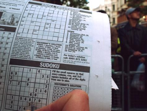 IMAGE: SUDOKU GAME