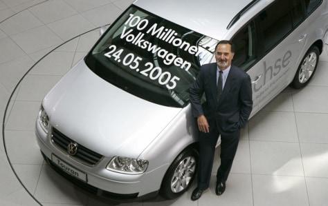 Volkswagen CEO Pischetsrieder