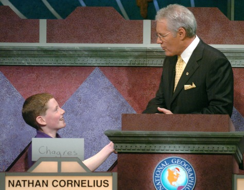 IMAGE: NATIONAL GEOGRAPHY BEE WINNER