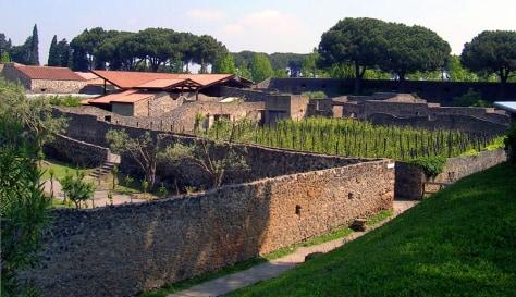 Image: Pompeii gardens