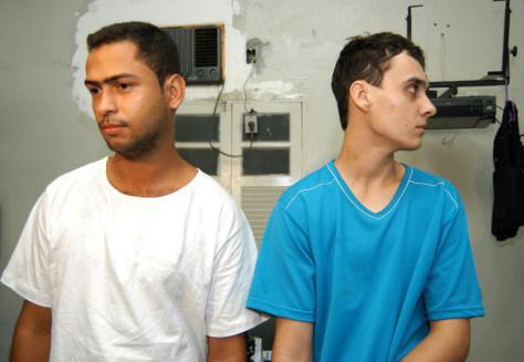 Image: Brazilian murder suspects.
