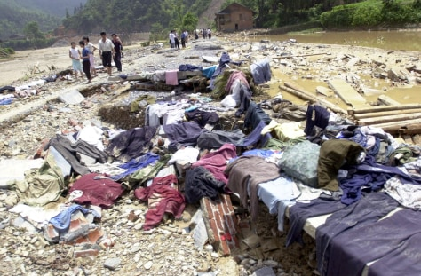 IMAGE: DEBRIS FROM FLOOD