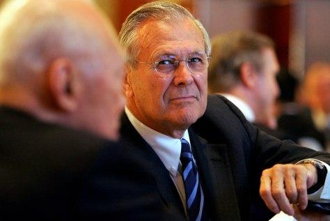 IMAGE: U.S. Secretary of Defense Donald Rumsfeld