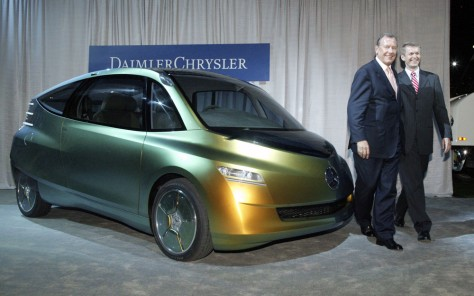 IMAGE: UNVEILING OF FISH-INSPIRED DIESEL CAR
