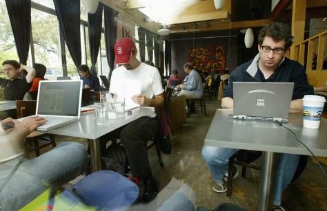 Wi-Fi users in San Franciso