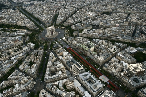 Image: Aerial view of Paris