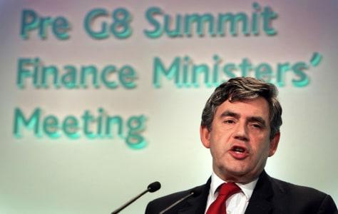 Image: Gordon Brown.