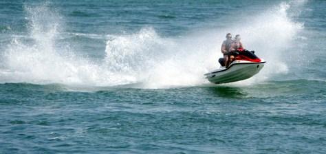 Image: Jet ski riders