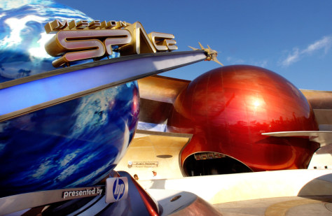 Disney's 'Mission: Space' ride at Walt Disney World Resort in Lake Buena Vista, Fla
