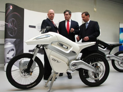 IMAGE: FUEL CELL MOTORCYCLE