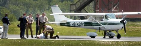 Image: Hayden Sheaffer's airplane