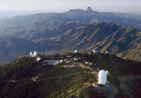 Image: Kitt Peak and Baboquivari Peak