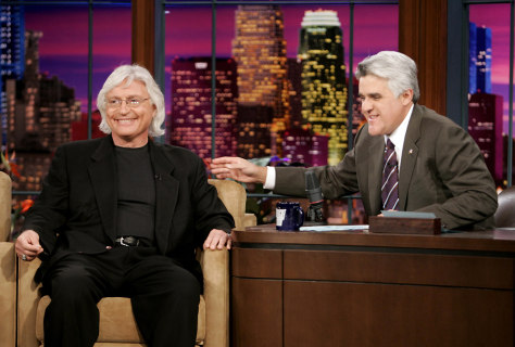 Attorney Thomas A. Mesereau,Jr. appears on The Tonight Show with Jay Leno in Burbank