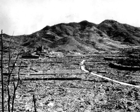 Image: Nagasaki atomic bomb aftermath