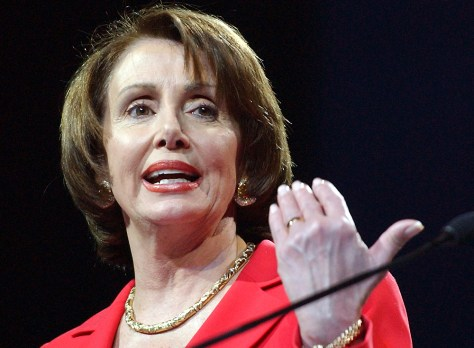 House Minority Leader Pelosi addresses pro-Israel lobby conference in Washington