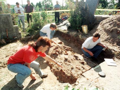 Image: Exhumation