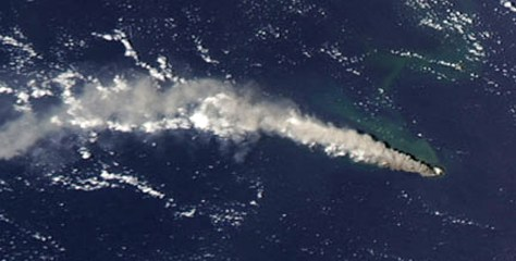 Image: Anatahan eruption