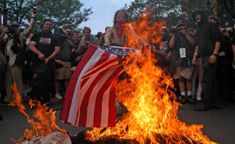 BOSTON:PROTEST AT DEMOCRATIC NAT'L CONVENTION