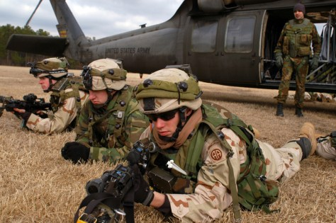 Thousands Of Paratroopers Participate In Training Exercise At Fort Bragg