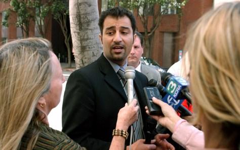 Image: Shabbir Ahmed's attorney, Saad Ahmad.