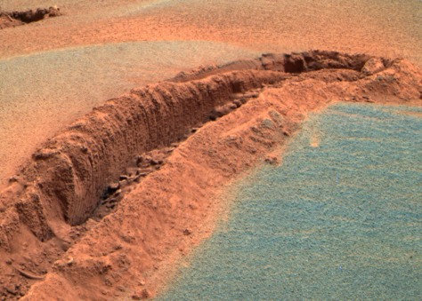 Image: Rut on Mars