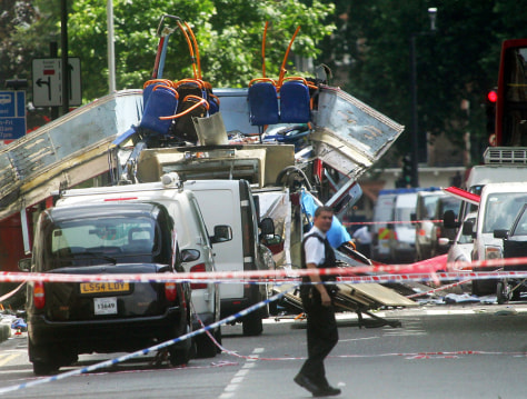 Image: Bus explosion.