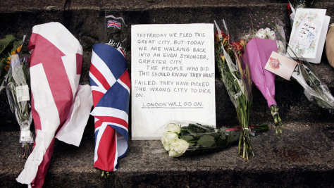 Londoners Come To Terms With The Aftermath Of Bomb Attacks