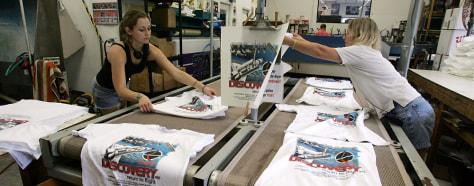 Shuttle T-shirts