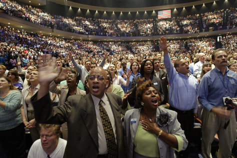 Image: Houston megachurch
