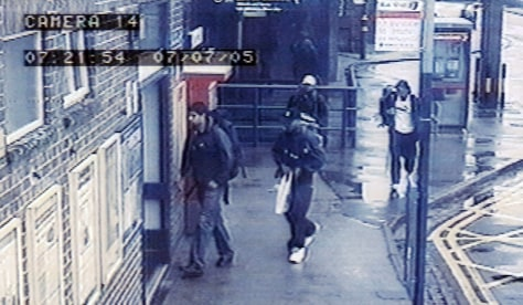 Image: CCTV footage of London suspects