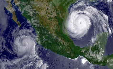 Hurricane Emily nears Mexico