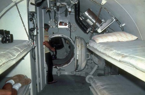 inside space station bed - photo #4