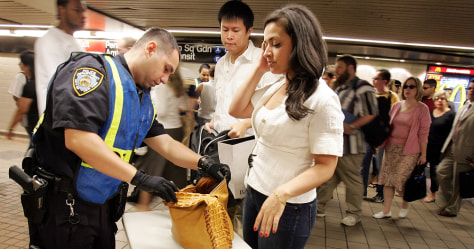 New York Begins Random Bag Searches on Subway