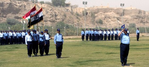 IMAGE: Iraqi police cadets