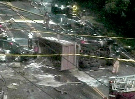 Image: crash in Connecticut