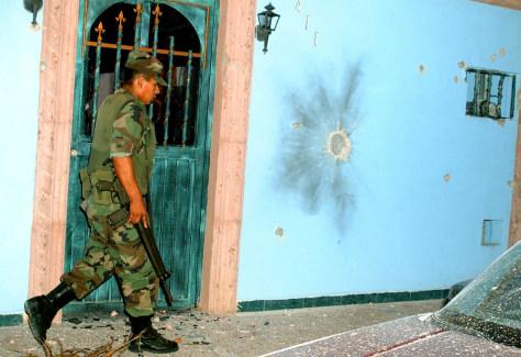 Image: Nuevo Laredo damage