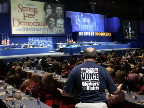 Image: AFL-CIO national convention