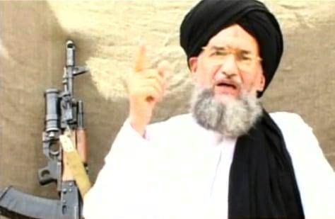 IMAGE: Al-Qaida deputy leader Ayman al-Zawahri