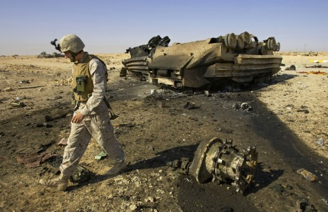 IMAGE: Iraq bomb wreckage