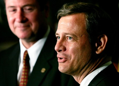 Supreme Court Nominee John Roberts Visits Lawmakers On Capitol H