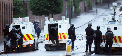 IMAGE: Belfast riots